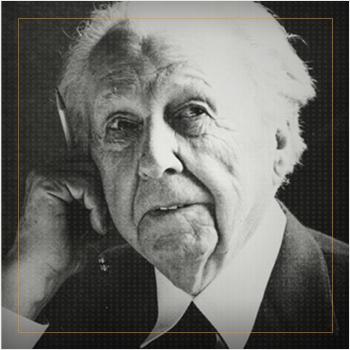 Frank Lloyd Wright portrait